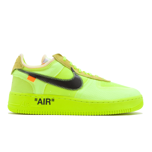 Sneaker Con Air Force 1 Low Off White Volt